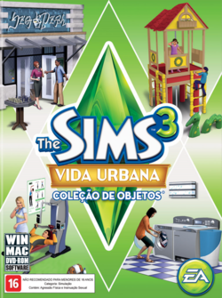 Packshot The Sims 3 Vida Urbana