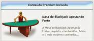 Mesa de Blackjack Apostando Forte