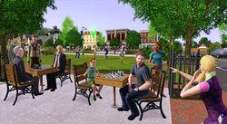 The Sims 3 Xadrez