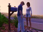 João e Bete em The Sims 3