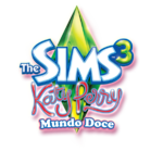 Logo The Sims 3 Katy Perry Mundo Doce
