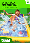 The Sims 4 Diversão no Quintal Capa
