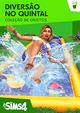 Capa The Sims 4 Diversão no Quintal