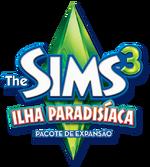 Logo The Sims 3 Ilha Paradisíaca