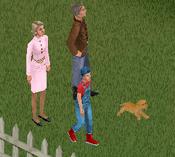 Família Campos (Subúrbio) The Sims