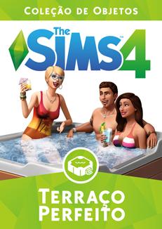 Capa The Sims 4 Terraço Perfeito (Primeira Versão)