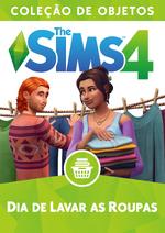 Capa The Sims 4 Dia de Lavar as Roupas (Primeira Versão)