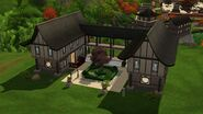 Casa da Lilás (Shang Simla), exterior