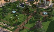 Parque do Centro Cívico, visão de cima