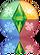 Ícone reflexo The Sims 3 Estações