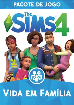 Capa The Sims 4 Vida em Família (Primeira Versão)