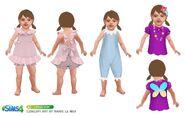 The Sims 4 - Bebês (Conceito 4)