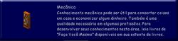 Descrição Habilidade Mecânica TS
