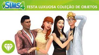 The Sims 4 Festa Luxuosa Trailer Oficial