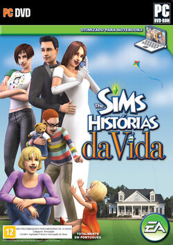 The Sims Histórias da Vida capa