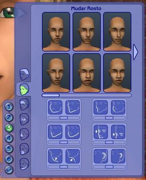 Mudar rosto do Sim TS2