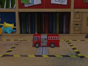 Caminhão de Bombeiros de Brinquedo