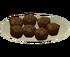 Cupcakes de Superbomba de Chocolate