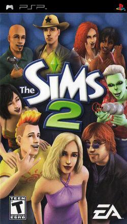 The Sims 2 (PSP - Capa)