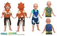 The Sims 4 - Bebês (Conceito 3)