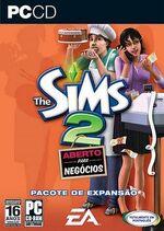 Capa The Sims 2 Aberto para Negócios
