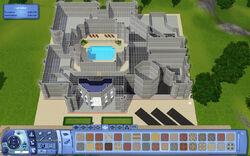 Construção de uma mansão