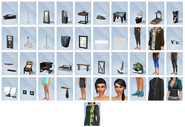 The Sims 4 - Fitness (Itens 1)