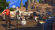 The Sims 4 Star Wars - Jornada para Batuu (Captura de tela 2)
