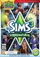 Packshot The Sims 3 Sobrenatural