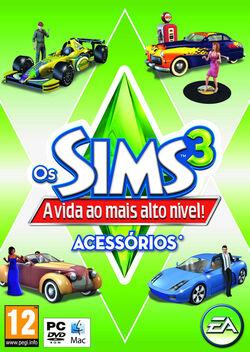 Capa Os Sims 3 A Vida ao mais alto Nível!