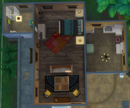 Esconderijo da Colina (primeiro andar)