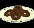 Rosquinhas com Chocolate