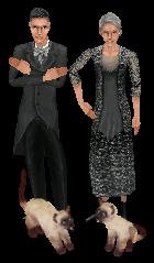 Família Caixão - The Sims OBVP