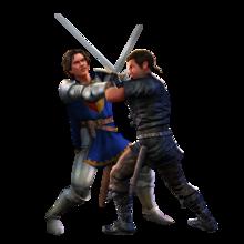 The Sims Medieval Render Luta