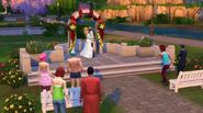 Casamento de Ollie e Babs