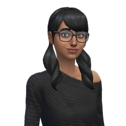 Cassandra Caixão (The Sims 4)