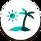 Ícone The Sims 4 Ilhas Tropicais