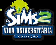 Logo Os Sims 2 Vida Universitária