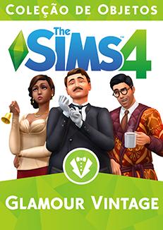 Capa The Sims 4 Glamour Vintage (Primeira Versão)