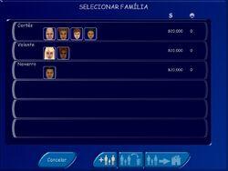Estoque de Famílias The Sims
