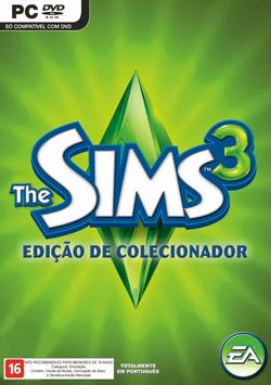 The Sims 3 Edição de Colecionador Capa
