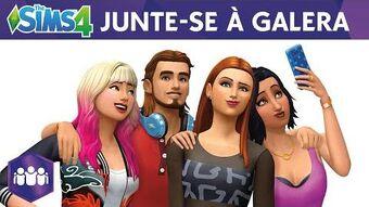 The Sims 4 Junte-se à Galera Trailer Oficial de Anúncio