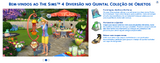 The Sims 4 Diversão no Quintal Boas Vindas