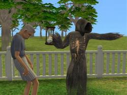 Dona Morte ceifando Sim (TS2)