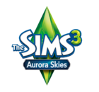 Logo The Sims 3 Aurora Skies