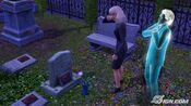 Agnes Rugabaixa no Cemitério