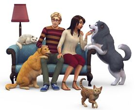 Render falsa The Sims 4 Pets