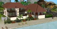 Hotel de Praia Twikkii, fundos