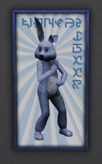 Easter Egg - Coelho do Apoio Social
