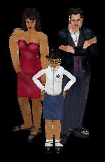 Família Caixão - The Sims